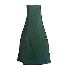 La Hacienda - Extra large green chimenea rain cover