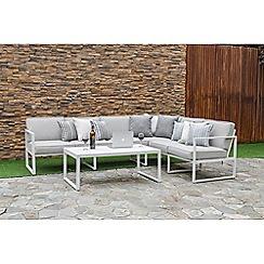 Debenhams - 'Rochelle' corner sofa set