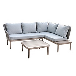 Debenhams - 'Palmira' corner sofa with side table