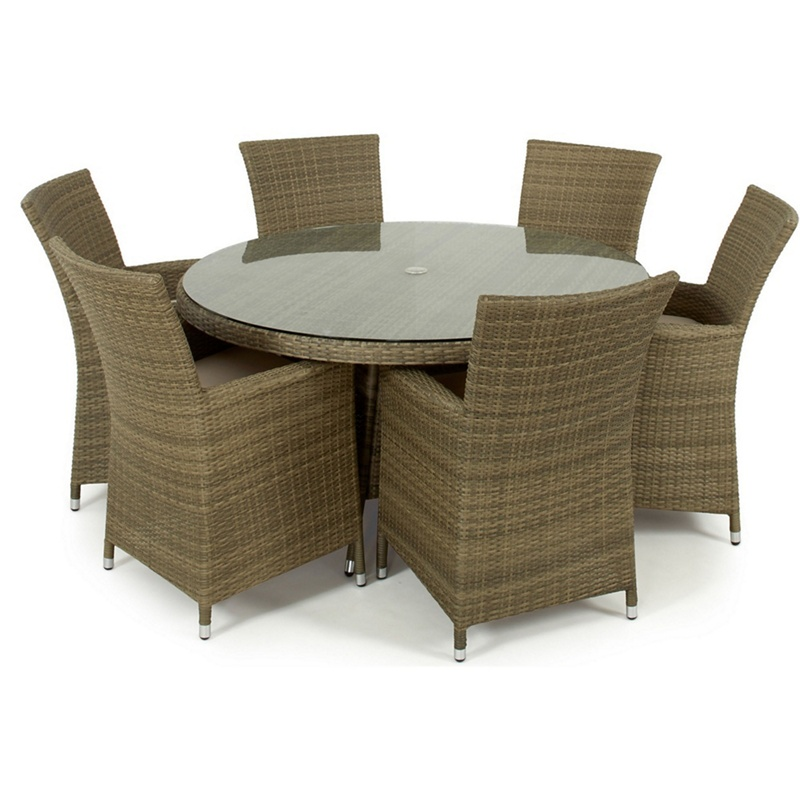 debenhams light brown rattan effect 39 la 39 round garden. Black Bedroom Furniture Sets. Home Design Ideas
