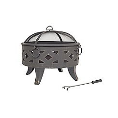 La Hacienda - Diamond firepit