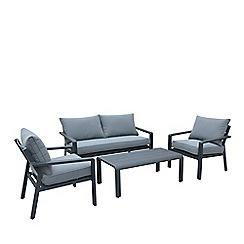 Debenhams - Grey 'Calais' 2 Seater Sofa Set