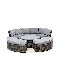 Debenhams - Grey 'Chelsea' Suite Set