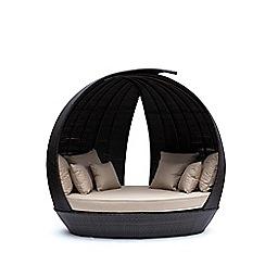 Debenhams - Brown 'Lotus' Day Bed