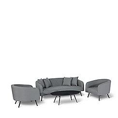 Debenhams - Grey 'Lavita' 3 Seater Sofa Set
