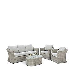Debenhams - Grey 'Ontario' Sofa Set