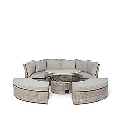 Debenhams - Brown 'Ontario' Suite Sofa Set