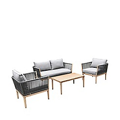 Debenhams - Brown 'Pascal' 2 Seater Sofa Set
