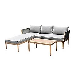 Debenhams - Large 'Pascal' Chaise Corner Sofa