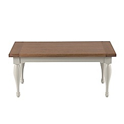 Willis & Gambier - Oak and painted 'Worcester' coffee table