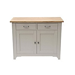 Willis & Gambier - Oak and painted 'Worcester' small sideboard