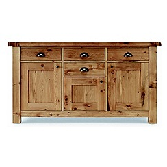 Willis & Gambier - Oak 'Normandy' large sideboard