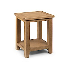 Debenhams - Oak 'Arlington' side table