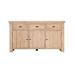 Debenhams - Reclaimed wood 'Toscana' large sideboard