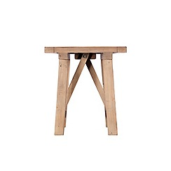 Debenhams - Reclaimed wood 'Toscana' side table