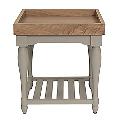 Willis & Gambier - Oak and painted 'Worcester' tray table