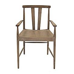 Willis & Gambier - Oak 'Faro' carver armchair