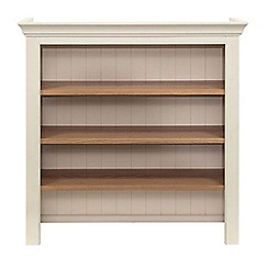 Willis & Gambier - Oak top 'Newquay' small open display hutch