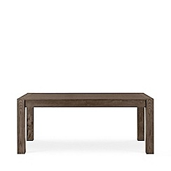 Debenhams - Dark oak 'Turin' extending table