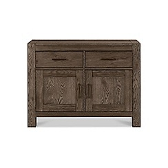 Debenhams - Dark oak 'Turin' narrow sideboard