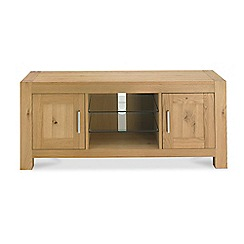 Debenhams - Oak 'Turin' TV unit