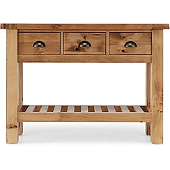 Willis & Gambier - Oak 'Normandy' console table