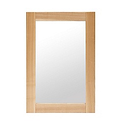 Willis & Gambier - Ash 'Denver' wall mirror