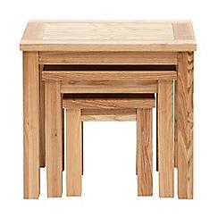Willis & Gambier - Ash 'Denver' nest of 3 tables