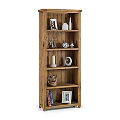 Debenhams - Pine 'Whistler' tall bookcase