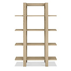 Debenhams - Oak 'Turin' open shelving unit