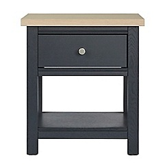 Corndell - Dark grey 'Marlow' side table
