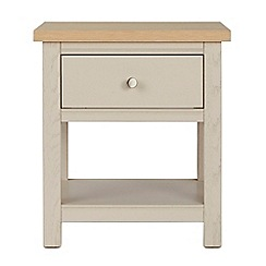 Corndell - Cream painted oak 'Marlow' side table