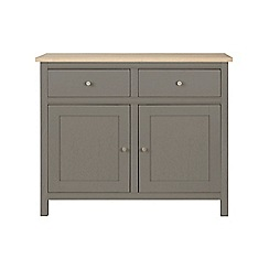 Corndell - Small light grey 'Marlow' sideboard