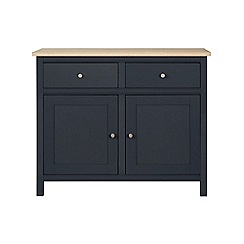 Corndell - Small dark grey 'Marlow' sideboard