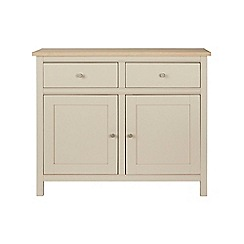 Corndell - Cream painted oak 'Marlow' small sideboard