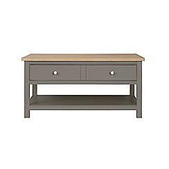 Corndell - Light grey 'Marlow' coffee table