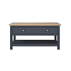 Corndell - Dark grey 'Marlow' coffee table