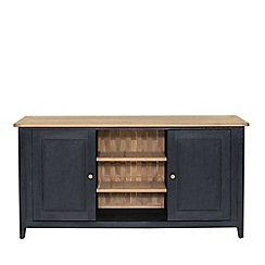 Willis & Gambier - Large charcoal 'Boston' sideboard