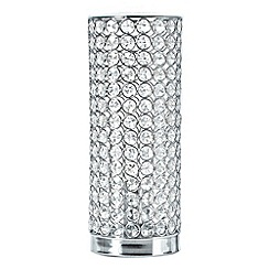Star by Julien Macdonald - Silver diamant  table lamp