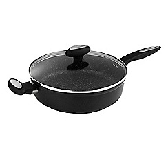 Zyliss - Forged Aluminium non stick Sautee Pan with Glass Lid 28 cm
