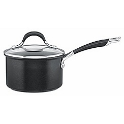 Circulon - Black non-stick aluminium 'Momentum' 16cm induction saucepan