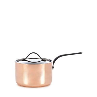 J By Jasper Conran   Copper 20cm Saucepan by J By Jasper Conran