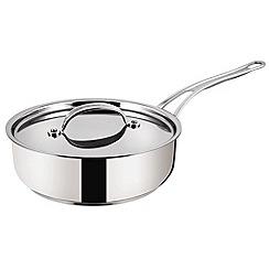 Jamie Oliver - Premium' stainless steel 24cm saute pan by Tefal