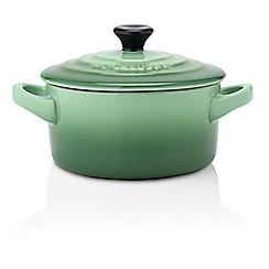 Le Creuset - Green petite round casserole