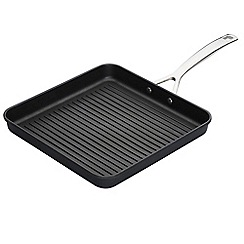 Le Creuset - Black toughened non-stick 28cm square grill