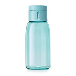 Joseph Joseph - Turquoise 'Dot' hydration tracking 400ml water bottle