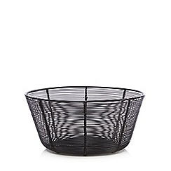 Home Collection - Black 'Stockholm' wire bowl