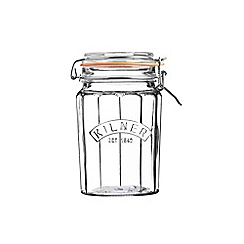 Kilner - Facetted clip top 0.95l jar