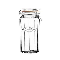 Kilner - Facetted clip top 1.8l jar