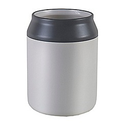 Jamie Oliver - White and grey ceramic utensil pot